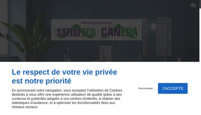 Site internet de Satisfeco