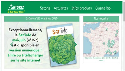Site internet de Satoriz Strasbourg