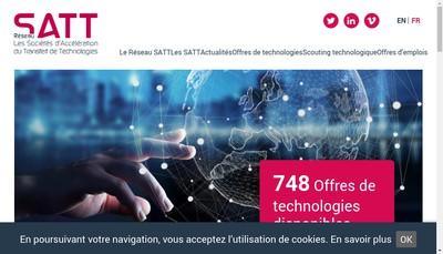Site internet de Association des Satt