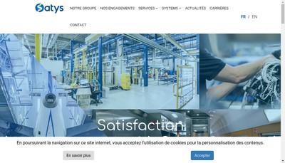 Site internet de Satys Sealing & Painting France