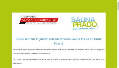 Site internet de Sauna le Prado