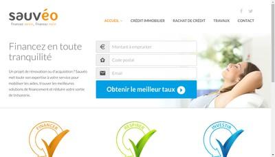 Site internet de Sauvéo