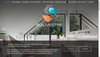 Site internet de Sauvestre