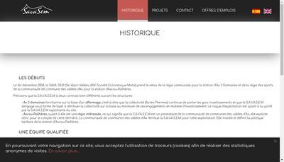 Site internet de Sava Sem