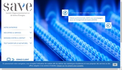 Site internet de Gain Energies