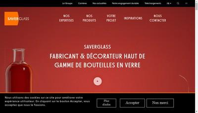 Site internet de Tourres et Cie Verreries de Graville