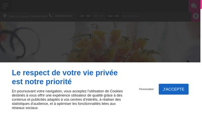 Site internet de Saveurs & Delices