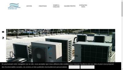 Site internet de Sanitaire et Chauffage du Batiment
