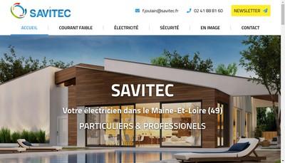 Site internet de Savitec