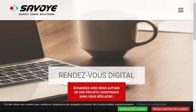 Site internet de Savoye