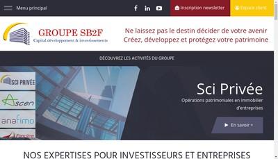 Site internet de Sb2F Gestion Privee