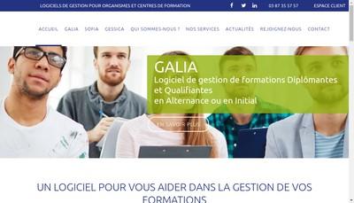 Site internet de Sc - Form Concept
