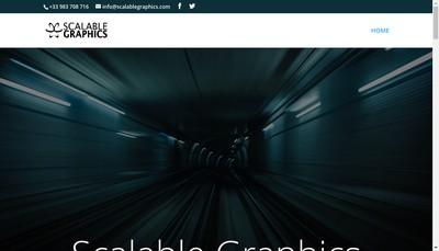 Site internet de Scalable Graphics