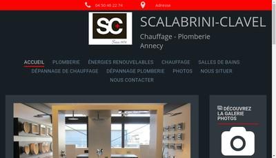 Site internet de Etablissements Scalabrini Clavel