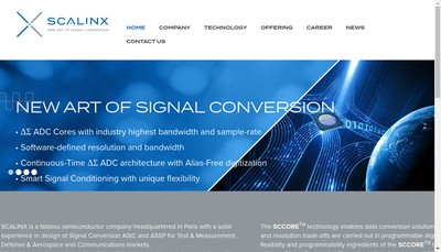 Site internet de Scalinx
