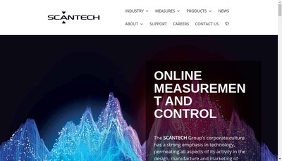 Site internet de Scantech