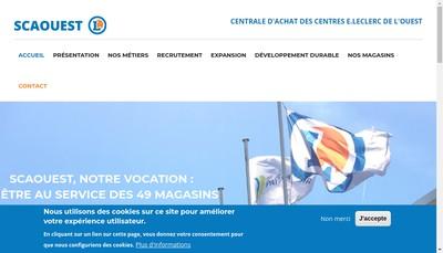 Site internet de Societe Cooperative d'Approvisionnement de l'Ouest