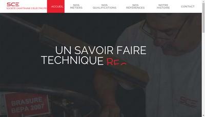 Site internet de Societe Chartraine d'Electricite
