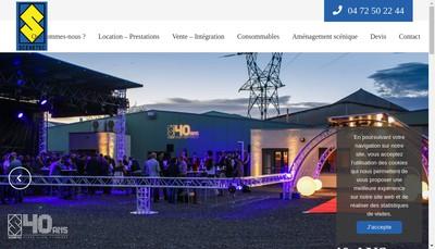 Site internet de Scenetec
