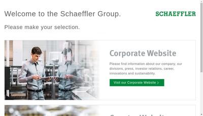 Site internet de Schaeffler Chain Drive Systems SAS