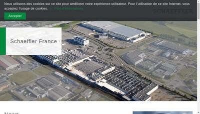 Site internet de Schaeffler France