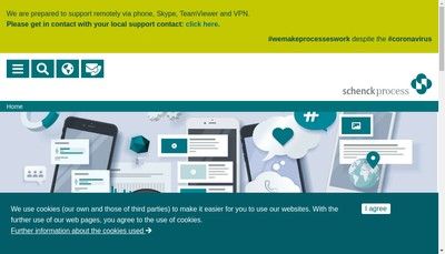 Site internet de Schenck Process France SAS