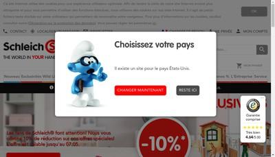 Site internet de Schleich France SARL