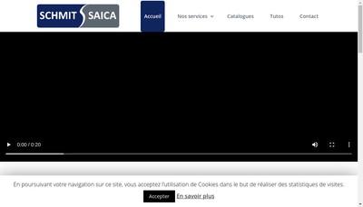 Site internet de Schmit Saica