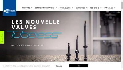 Site internet de Schwalbe France