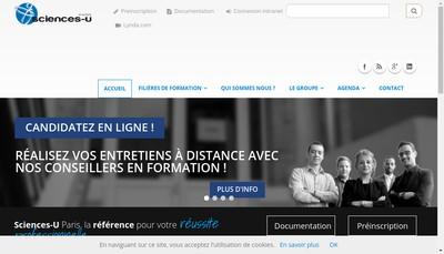 Site internet de Sciences U