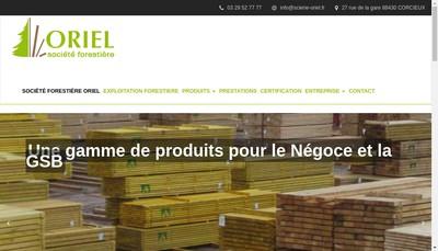 Site internet de Societe Forestiere Oriel