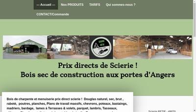 Site internet de Scierie Retif