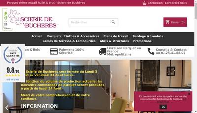 Site internet de Scierie de Bucheres