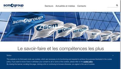 Site internet de Antb Cms France