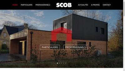 Site internet de Societe Construction Ossature Bois