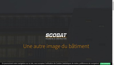 Site internet de Societe Cooperative Ouvriere de Batiment
