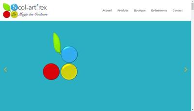 Site internet de Scol Art'Rex