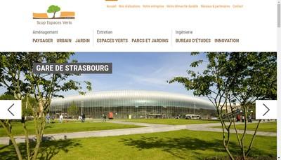 Site internet de SCOP Espaces Verts