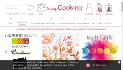 Site internet de Scrapcooking