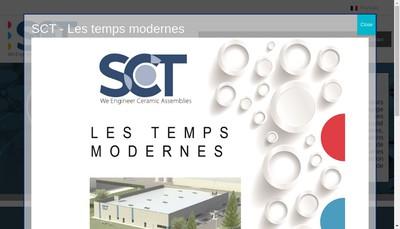 Site internet de Societe des Ceramiques Techniques