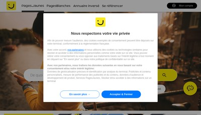Site internet de Sd Sablage