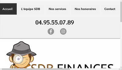 Site internet de Sdb Finances
