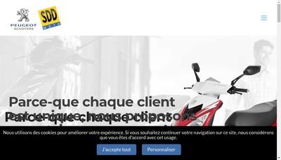 Site internet de Sdd Moto