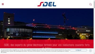 Site internet de Sdel Nantes