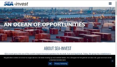 Site internet de Sea-Invest Caronte