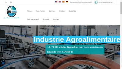Site internet de Seal France