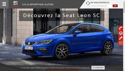 Site internet de Versailles Chantiers Automobiles