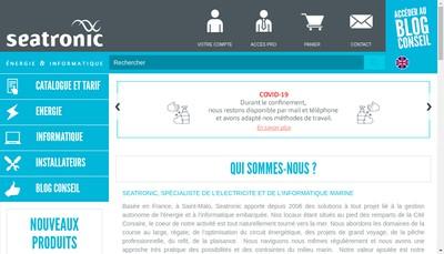Site internet de Seatronic