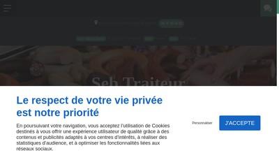 Site internet de Seb Traiteur