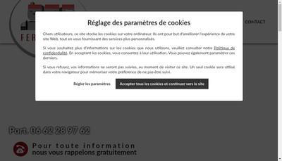 Site internet de Seb Fermetures